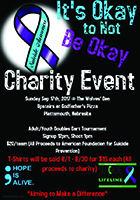 Suicide Awareness Charity Event